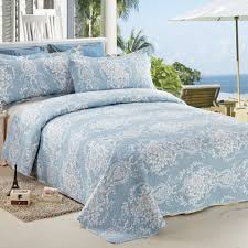 Best Blue Quilts and Coverlets – Ease Bedding with Style & C.CTN 3pc Reversible&Printed Bedspread/Coverlet Set/Quilt Set,Queen Size, Adamdwight.com