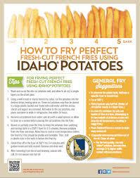 Potato Size Chart Foodservice Cost And Size Idaho Potato Commission