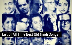 old clic hindi songs of bollywood