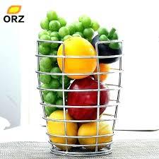 fruit countertop vegetable storage plastic fruits vegetables sink drain basket rack holder and strainer kitchen accessory
