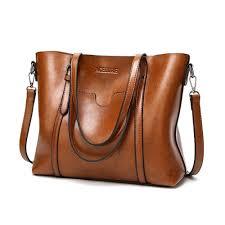 women bag oil wax women s leather handbags