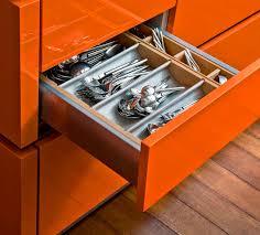 Small Kitchen Drawer Organizer Kitchen Attractive Kitchen Cabinet Drawer Designs With Brown