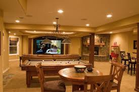 basement pool table.  Basement Lone Tree WalkOut Finished Basement With Theater Wet Bar Pool Table  Traditional Inside F
