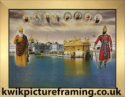 sri harmandir sahib golden temple amritsar picture frame in size 12 x 9 ebay