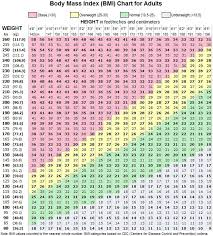 Logical Healthy Weight Zone Chart 2019