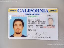 dean Prop Of License Driver's And Fake Chris Out Cain Cards Id Time Harrison