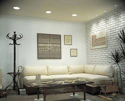 contemporary living room with progress lighting p8075 recessed lighting series 6 baffle trim high