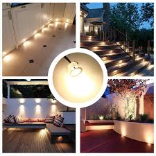 12v Led Patio Lights Recessed Led Deck Lighting Kits 12v Low Voltage Warm White