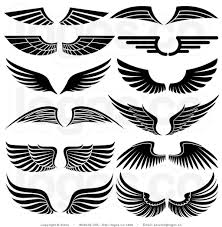 Logo Design Clipart Royalty Free Stock Logo Clipart Of Angel Wings Wings