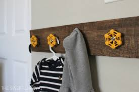 Used Coat Racks 100 DIY Ideas for Upcycled Coat Racks and Hooks Trends magazine 63