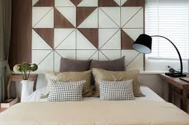decorating a bare wall in the bedroom