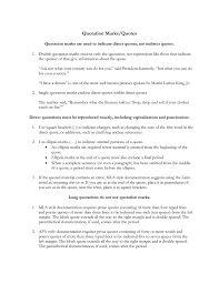 Mla Brackets Quotation Marks And Quotes Tutorial