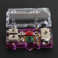 two way auto car fuse box holder with cover high quality vehicle automotive fuse panels and relay blocks at Automotive Fuse Box