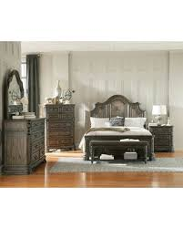 king size panel bed. Carlsbad Collection 204041KWSET 6 PC Bedroom Set With California King Size Panel Bed + Dresser