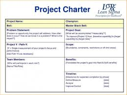 Project Charter Template Project Charter Example Template Business intended for Project 1