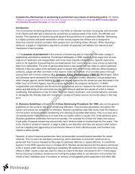 sentencing essay year hsc legal studies thinkswap sentencing essay