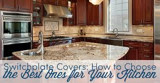 switchplate covers how to choose the best ones for your kitchen