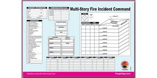 Ems Ics Chart Incident Command Worksheet Pad Story Structure