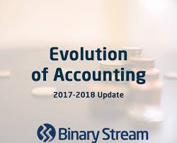 Binary Stream Evolution Of Accounting 2017 Update