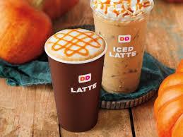 pumpkin latte hot or iced