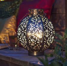 Medium Morocco Globe Lantern - lighting