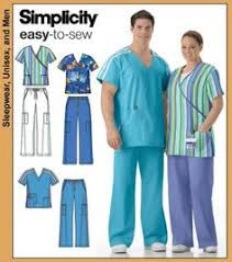 Scrub Top Patterns Delectable Cute Scrub Tops Made Using Simplicity 48 Pattern Craftiness