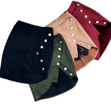 <b>New fashion Women</b> Ladies High Waist Pencil Skirts button lace ...