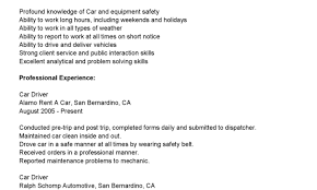 Sample Resume For Truck Driver Cdl Driver Resume Sample And Cdl