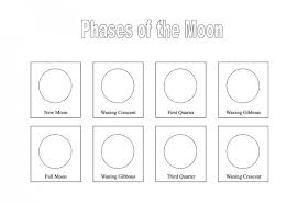Bunch Ideas of Phases Of The Moon Printable Worksheets On ...
