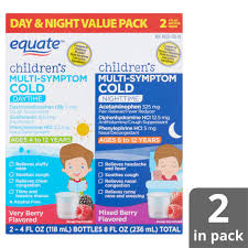 Equate Childrens Daytime Nighttime Multi Symptom Cold