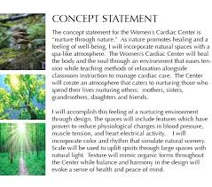 Concept Statement Interior Design
