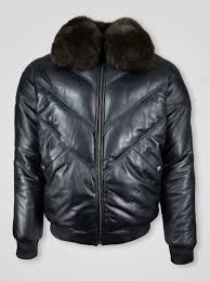 women s er leather jacket with fur collar