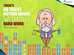 Happy birthday to the Father of the Periodic Table, Dmitri Mendeleev