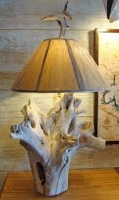 driftwood lighting. natural cedar driftwood lamp made by c joseph elder at lighting