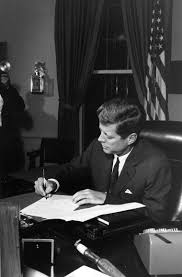 n missile crisis john f kennedy presidential library museum president kennedy signs quarantine proclamation