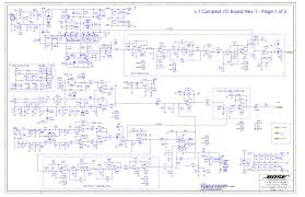 bose cinemate parts and schematics ( simple electronic circuits ) \u2022 Bose CineMate Setup at Bose Cinemate Series Ii Wiring Diagram