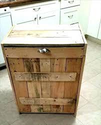 wood garbage can storage wood trash can bin outdoor wooden garbage storage bin