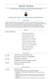 Personal Chef Resume Simple Cv Examples Uk Chef
