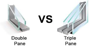 double pand vs triple pane windows cost s noise and sound