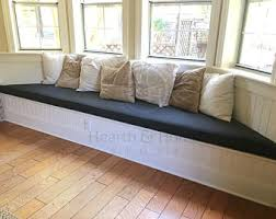 Custom Bay Window Seat Cushion with Cording , Trapezoid Cushion, Custom  Cushion, Bench Seat