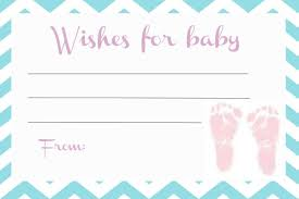 Wishes For Baby Template Photo Baby Shower Wishes For Image
