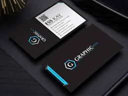 business card template designs free modern black business card template design by ess kay