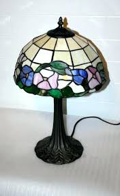 vintage stained glass lamps vintage style stained glass lamp by like lamps are real made in