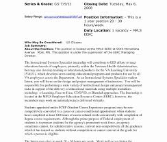 Government Affairs Cover Letter Sample Job Template Usajobs Gov