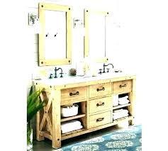 pottery barn vanity double table medium size of bathroom vanities for cabinet design sink