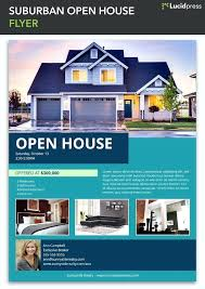 House For Rent Flyer Template Word Real Estate Open House Flyer Template Flyers School Word