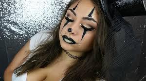 easy y clown halloween makeup tutorial glamoween beautybyjosiek last minute halloween makeup