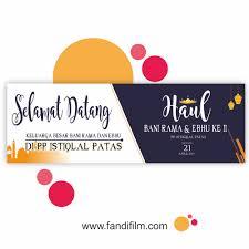 Desain Banner Download Desain Spanduk Jamaah Haul Fandifilm Id