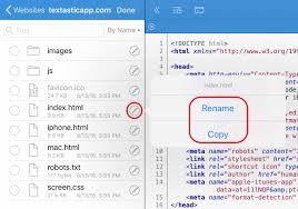 Moving, Copying, and Renaming Files and Folders — Textastic 7.1 ...