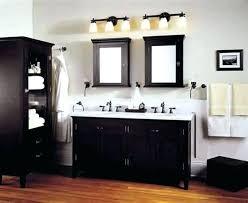 bronze bathroom fixtures. Gray And Bronze Bathroom Image Of Oil Rubbed Lighting Fixtures W